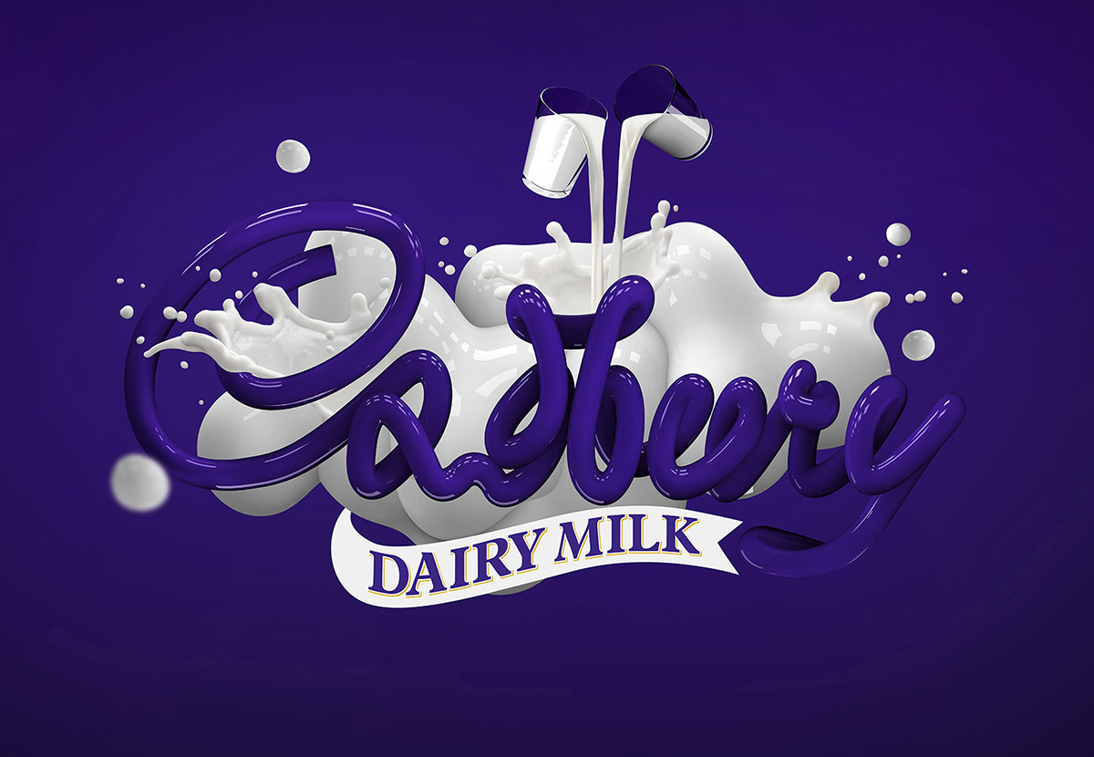Photo retouching for Cadbury